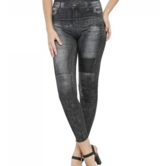 Denim Print Jeggings